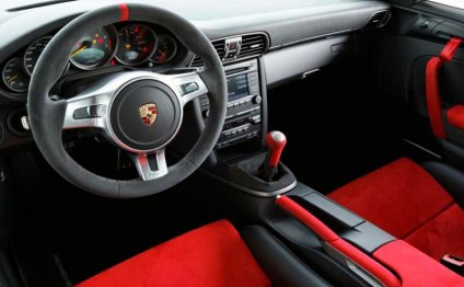 2014 Porsche Gt3 Interior