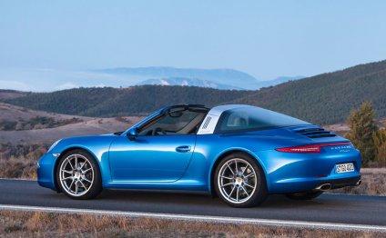 Porsche targa price