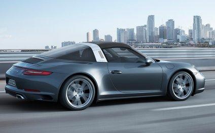 The New Porsche 911 Targa 4S
