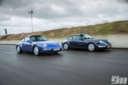 K-Roll's Porsche 911 Generational Comparison: 993 vs 964