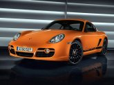 Orange Porsche Boxster