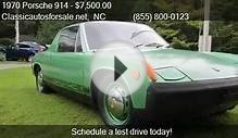 1970 Porsche 914 for sale in Nationwide, NC 27603 at
