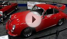 Awesome 1965 Porsche 356C at the Auto show