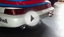 Capristo Exhaust Porsche 964 with 993 Turbo engine