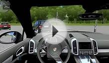 City Car Driving 1.5.0 PORSCHE CAYENNE TURBO AUTOBAHN [G27]