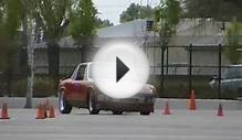 Mowing down cones- Turbo Subaru powered Porsche 914 at the