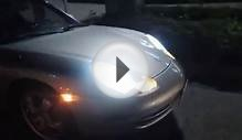 Porsche 911 996 LED Tail Light and HID renew picture in