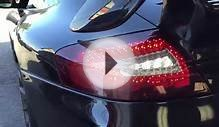 Porsche 996TT Turbo with LED Red Clear Upgraded Tail Light