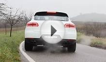 Porsche Macan S V6 Petrol with cargraphic flap exhaust