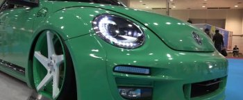 Widebody VW Beetle GSR by Alpil Shows a Hint of Porsche 911